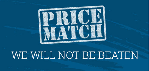 Price Match Guarantee - We Will Not Be Beaten