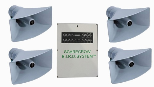 Scarecrow Bird 4 Speaker Bioacoustic Bird Dispersal System