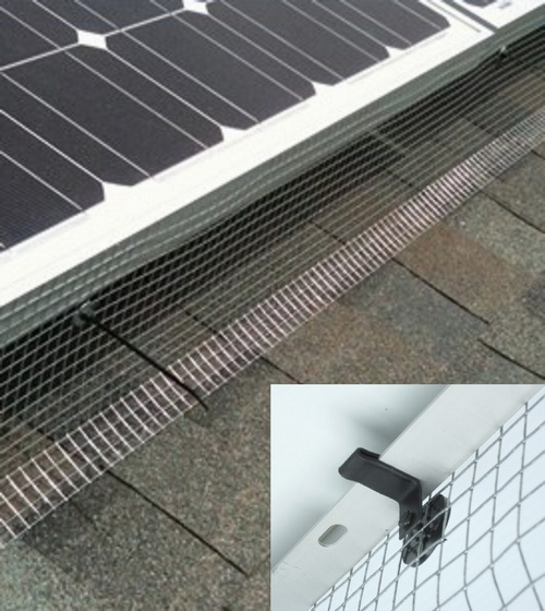 30m Solar Panel Bird Protection Kit Uk Amp Intl No More