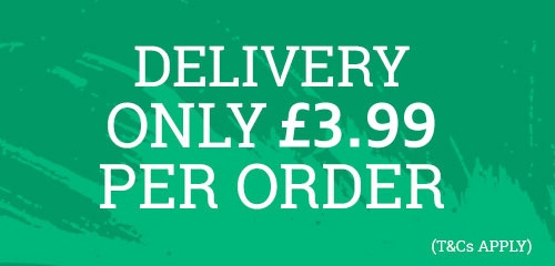 Free Delivery on ALL Orders (t&cs apply)